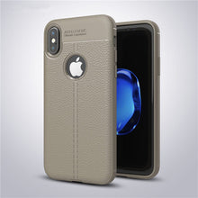 Ultra Thin Soft Litchi Case For iPhone X