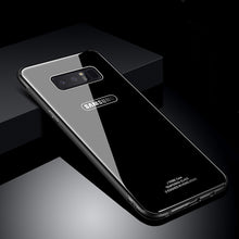 Fashion Tempered Glass Back Cover For Samsung Galaxy Note 8
