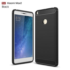 Carbon Fiber Case For Xiaomi Mi Max 2