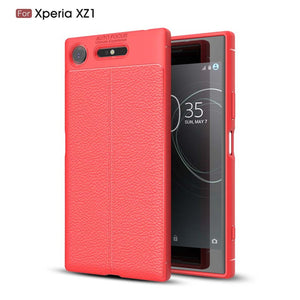 Ultra Thin Soft Litchi Case For Sony Xperia XZ1