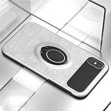 Magnetic Car Holder Finger Ring Case For iPhone X