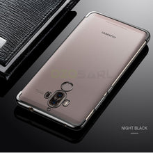 Ultra thin transparent plating case for Huawei Mate 9