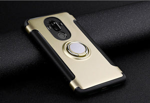 Shockproof Magnetic Car Holder Cover For Huawei Mate 10 Pro