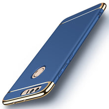 Premium 3-in-1 Frosted Shockproof Plating Case for Huawei Honor 8