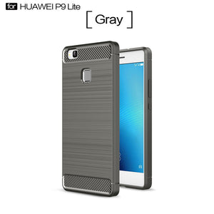 Carbon Fiber Case For Huawei P9 Lite - Eureka Choice