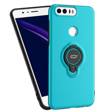 Premium 360 Ring Shockproof Case For Honor 8