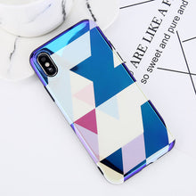 Fashion Glossy Love Heart Soft Silicone Case For iPhone X