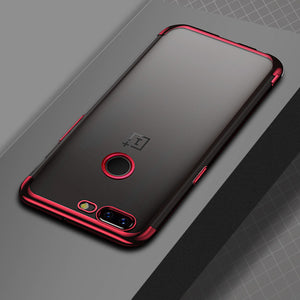 Ultra Thin Transparent Plating Case For OnePlus 5
