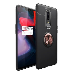 Premium 360 Ring Shockproof Case For OnePlus 6