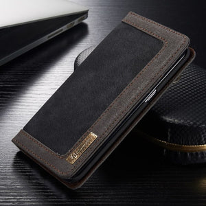 Fashion Flip Card Holder Leather Wallet For Samsung Galaxy S9 Plus
