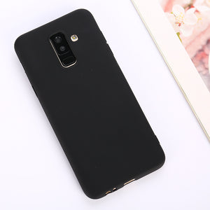 Anti-knock Soft Silicone TPU Back Cover For Samsung Galaxy S9 Plus