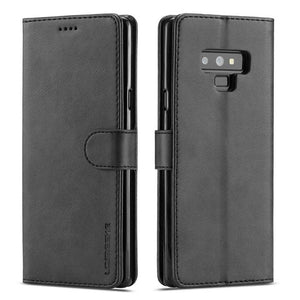 Fashion Flip Card Holder Leather Wallet For Samsung Galaxy Note 9