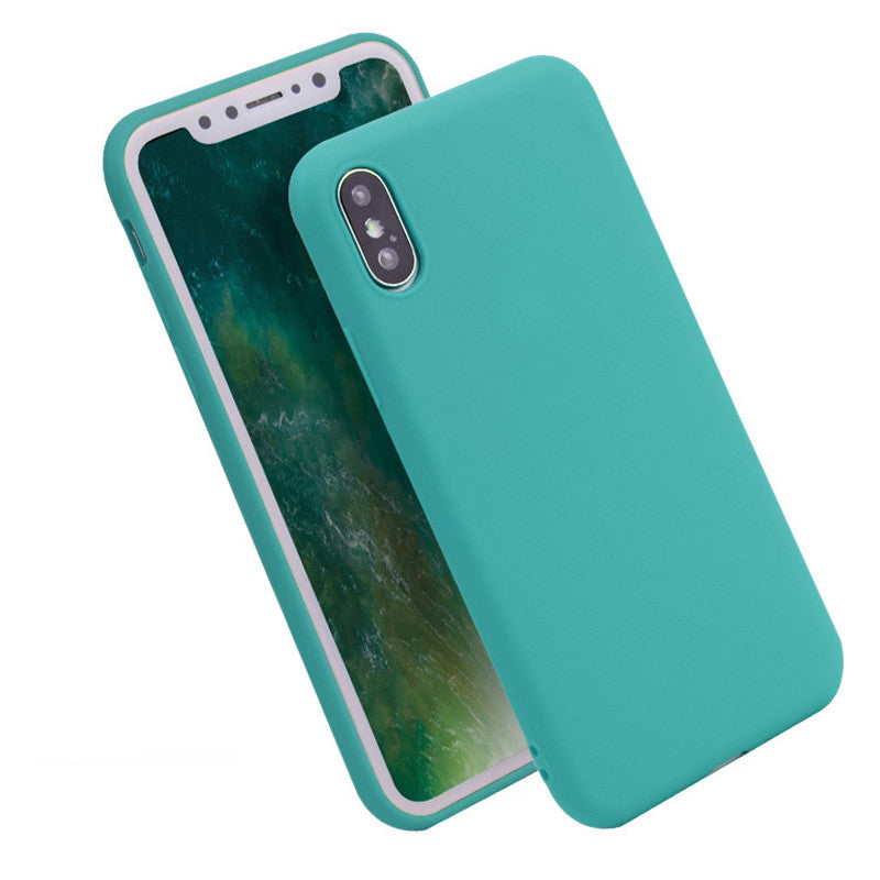 Anti-knock Soft Silicone TPU Case For iPhone X