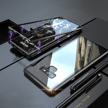 Ultra Magnetic Flip Adsorption Metal Case For Samsung Note 9