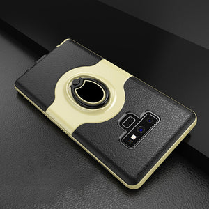 Luxury 360 Ring Hard Case For Samsung Galaxy Note 9