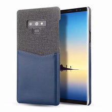 360 Full Protection Card Holder Case For Samsung Galaxy Note 9