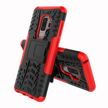 Dual Armor Stand Hard Case For Samsung Galaxy S9 Plus