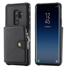 Luxury Soft Silicone Leather Wallet For Samsung Galaxy S9 Plus