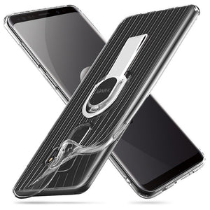 Full Protective Transparent Case For Samsung Galaxy S9 Plus
