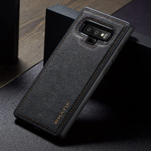Fashion Kraft Leather Texture Case For Samsung Galaxy S9 Plus