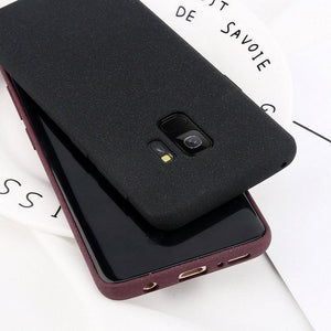 Ultra Thin Soft Silicone TPU Back Cover For Samsung S9 Plus