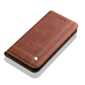 Luxury Flip Card Holder Leather Wallet For Huawei P20 Pro
