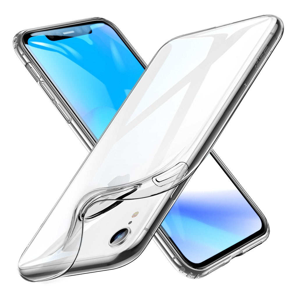 Anti-knock Soft Transparent TPU Back Cover For iPhone XR
