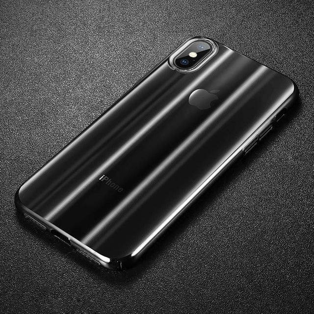 Luxury Aurora Gradient Color Hard Case For iPhone Xs / Xs Max