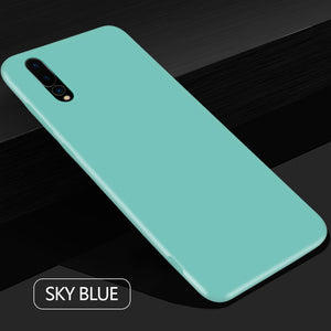 Ultra Thin Soft Silicone TPU Back Cover For Huawei P20 Pro