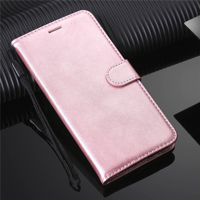 Fashion Flip Card Holder Leather Wallet For iPhone XS / XS Max