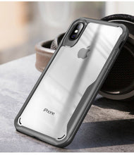Luxury Transparent Shockproof Case For iPhone X