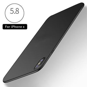 Ultra Thin Soft Silicone TPU Back Cover For iPhone X