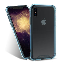 Anti-knock Soft Transparent TPU Back Cover For iPhone X