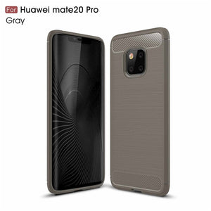 Carbon Fiber Case For Huawei Mate 20 / Mate 20 Pro