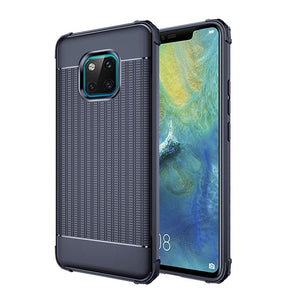 Carbon Fiber Case For Huawei Mate 20 / 20 Pro / 20 Lite