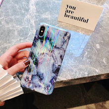 Fashion Marble Soft TPU Silicone Case For iPhone's
