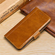 Fashion Flip Card Holder Leather Wallet For Huawei Phones