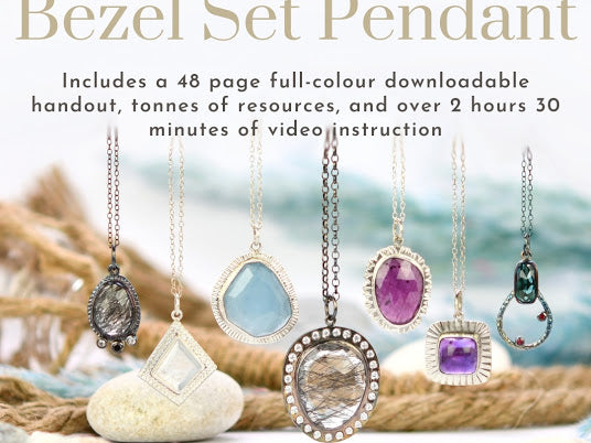 Bezel Set Stone Pendant - Instruction Fee