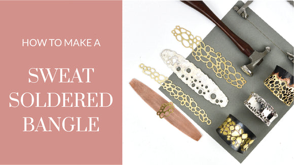 Sweat Soldered Bracelet - Instruction Fee