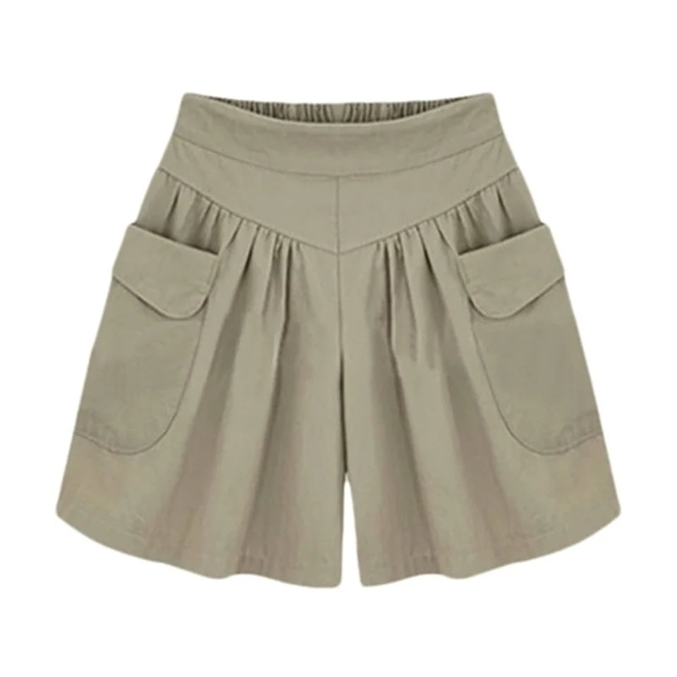 Elastic Short with pockets for women
