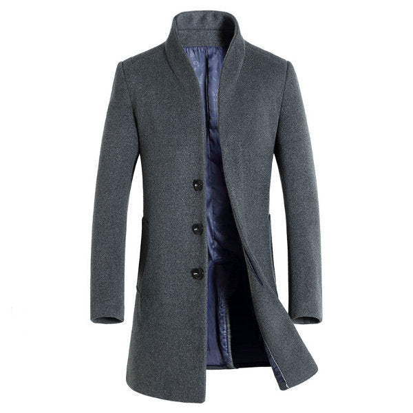 Business Casual Trench Coat