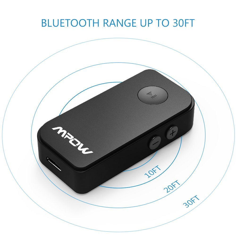 MPOW Upgraded Car Bluetooth 4.1 /Receiver