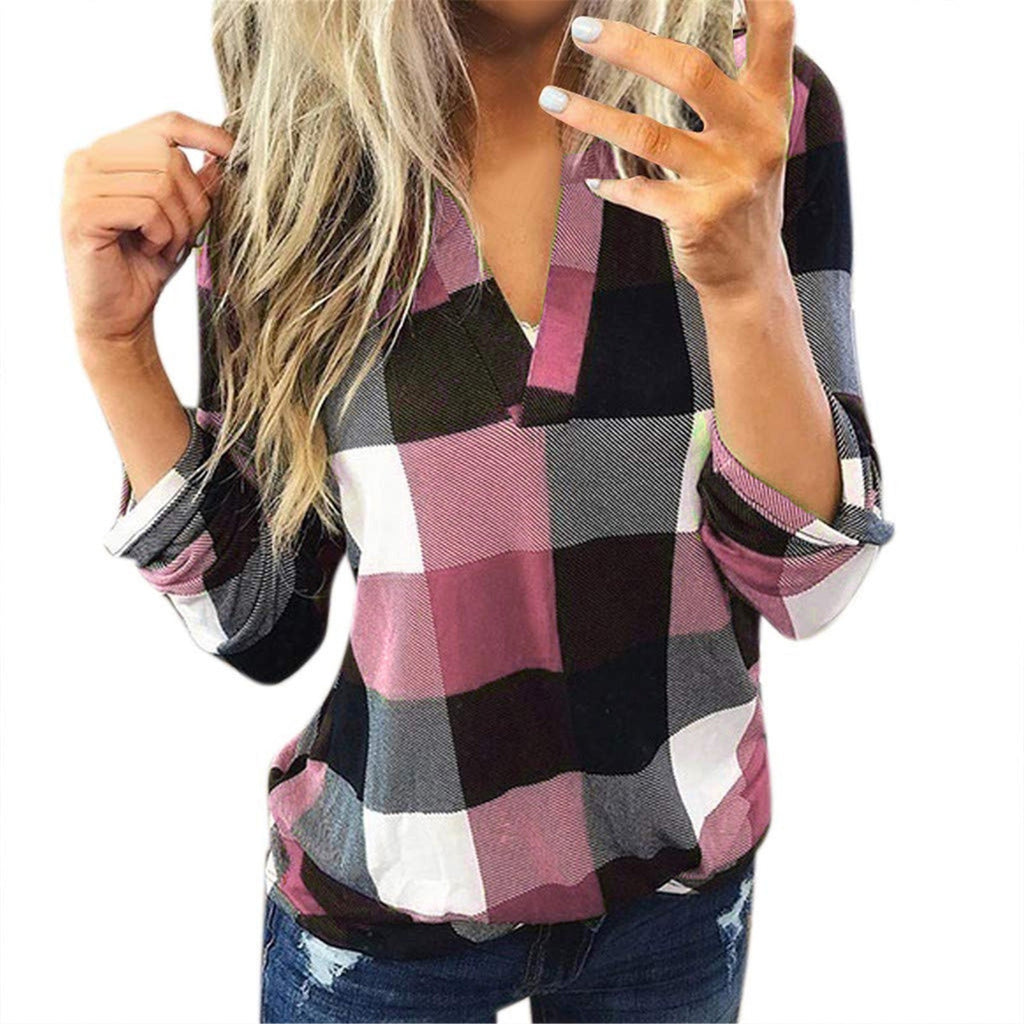 Women Casual Cotton Long Sleeve