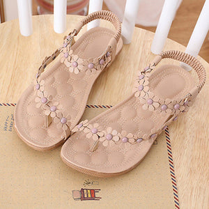 Comfort Slip On Sandals  Flower