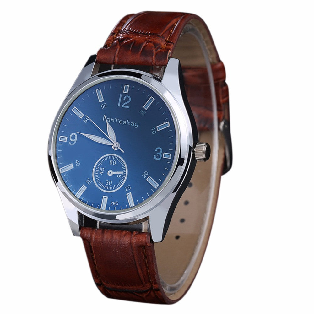 Men watch Luxury Quartz Clock