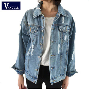 Women Basic Coats Spring Autumn Women Denim Jacket