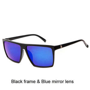 Square Sunglasses Mirror Men