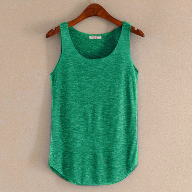 New Tank Tops Sleeveless