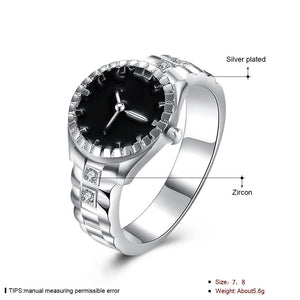 Cool Alloy Finger Ring Watch Clock 2018