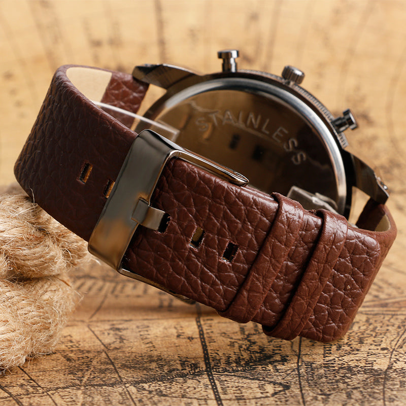 Modern Large Size Watche With Date